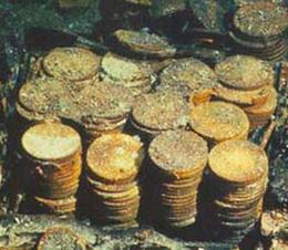 """Recuperadas miles monedas de oro y plata y lingotes del """"SS Central América"""""""