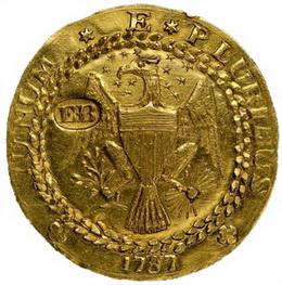 ANA Worlds Fair of Money y el Doblón Braser de 1787