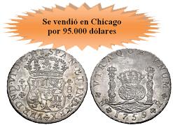 "Gran éxito en la subasta de Clasical Numismatic Group de la ""Richard L. Lissner Collection"""