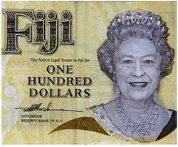 Fiyi sustituirá a Isabel II de sus billetes por plantas y fauna del país