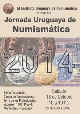 Jornada Uruguaya de Numismática 2014