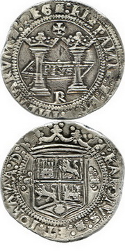 """Daniel Frank Sedwick subastará un rarísimo 8 Reales de Juana y Carlos, México, 1538, """"R"""", con salida en 475.000$"""