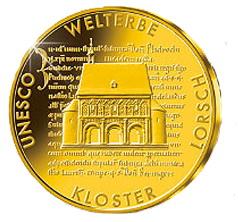 1250 Años del Monasterio de Lorsch en 100 euros oro