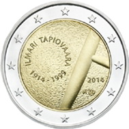 2 Euros de Finlandia para el diseñador de muebles Ilmari Tapiovaara