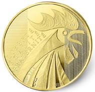 Vuelve el símbolo nacional francés en oro y plata: el Gallo