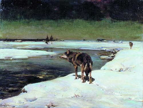 Alfred Wierusz Kowalski Uno De Los Mejores Pintores