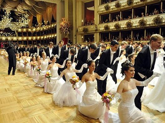 Baile De La ópera De Viena Encuentro De Color De Rosa Numismaticodigital Com