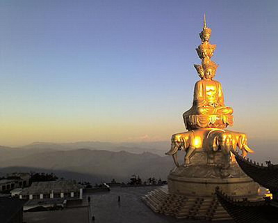 Resultat d'imatges de Samantabhadra Bodhisattva del Monte Emei